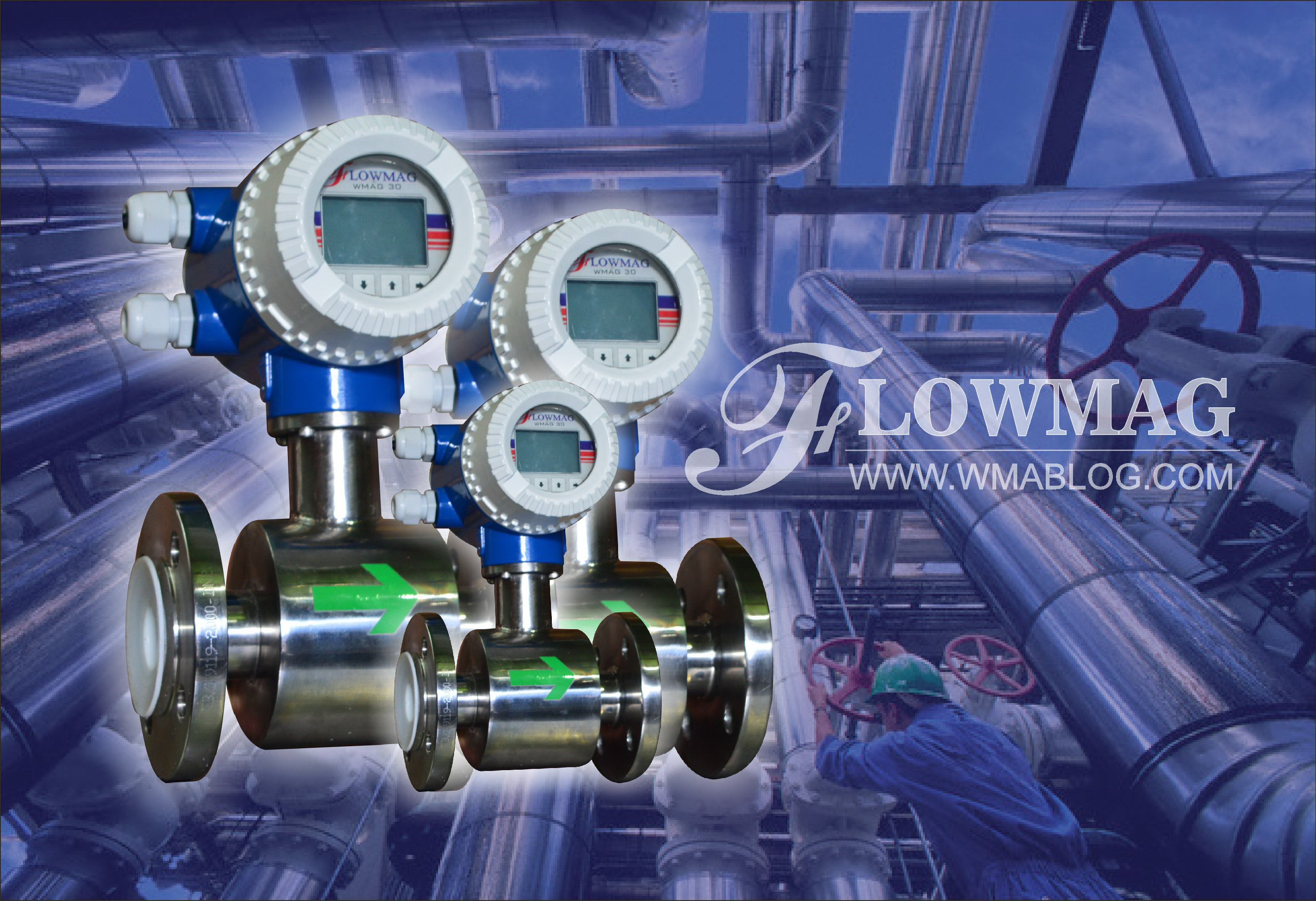 Water flowmeter Magnetic
