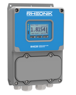 RHE28 Rheonik Coriolis mass flow transmitter