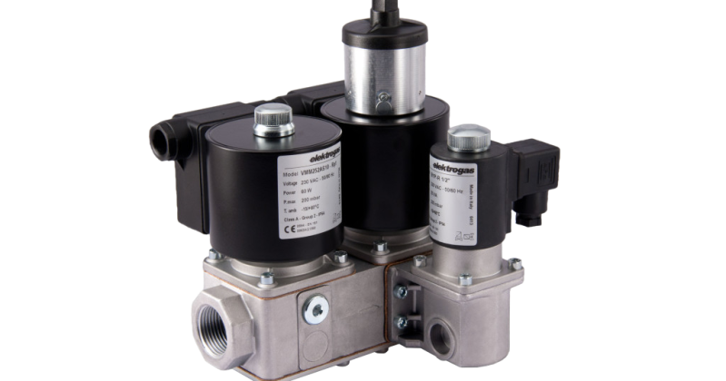 Delta elektrogas - VMM Multiple Safety Solenoid Valve